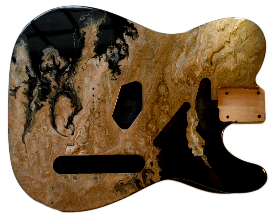 gold-chromaflux-telecaster-body